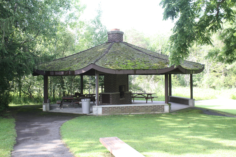 Family camp easter seals ontario recreational programs for Gazebo with fireplace